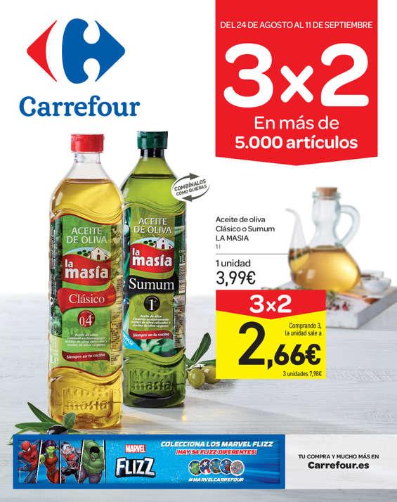 Cat 225 Logo Ofertas Carrefour Segovia Folleto Carrefour