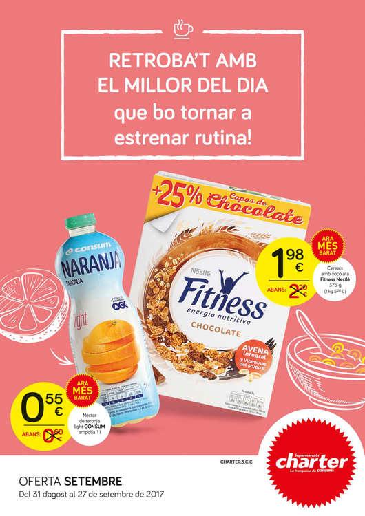 Ofertas de Supermercados Charter, Retroba't amb el millor del dia