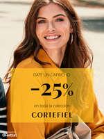 Ofertas de Cortefiel, Date un capricho, -25%  en toda la colección