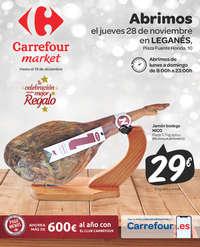 Abrimos el jueves 28 de noviembre en Leganés
