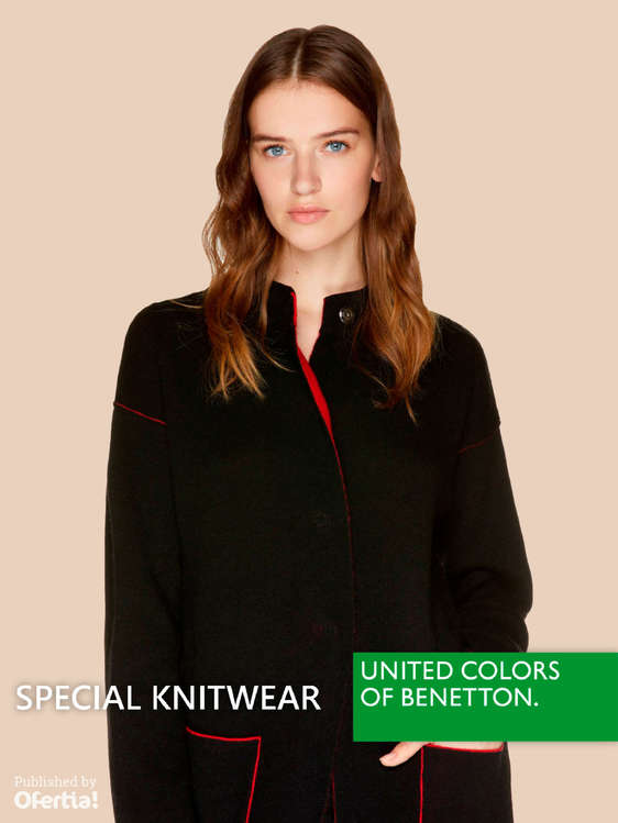 Ofertas de United Colors Of Benetton, Special knitwear
