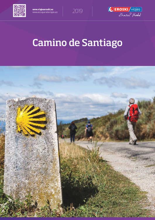 Ofertas de Eroski Viajes, Camino de Santiago 2019