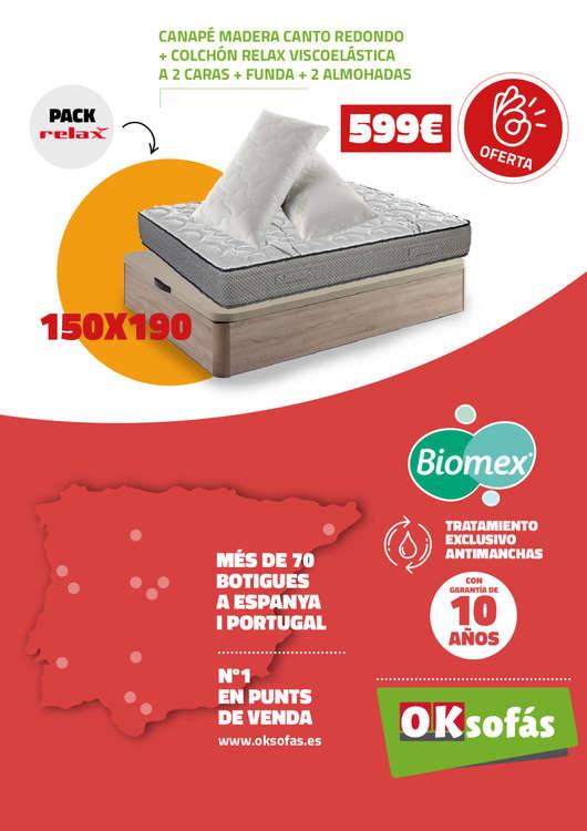Ofertas de OKSofas, Exprimimos los precios