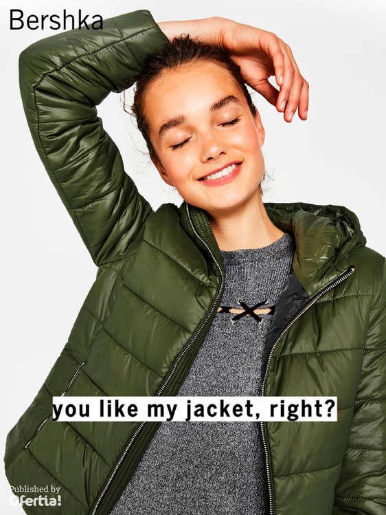 Ofertas de Bershka, You like my jacket, right?
