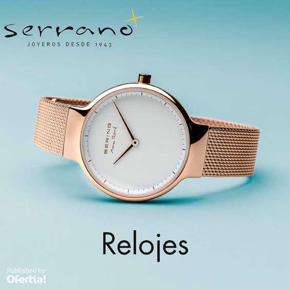 Ofertas de Joyería Serrano, Relojes