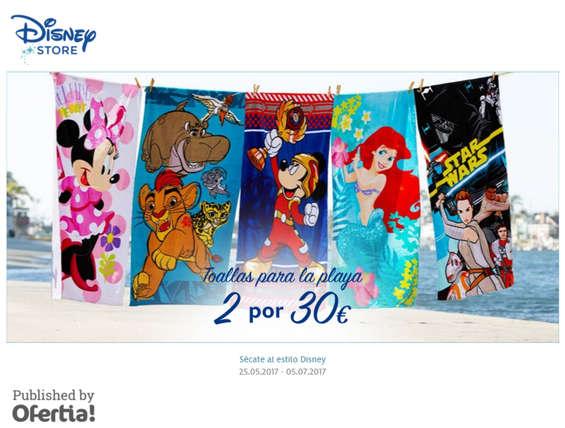 Ofertas de Disney Store, Toallas para la playa