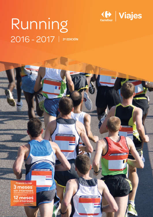 Ofertas de Carrefour Viajes, Running 2016-17